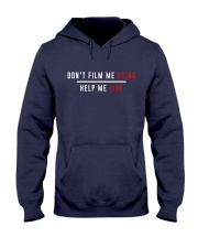 Don't film me  - Shirt - support Black community  Hooded Sweatshirt thumbnail