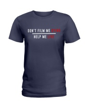 Don't film me  - Shirt - support Black community  Ladies T-Shirt thumbnail