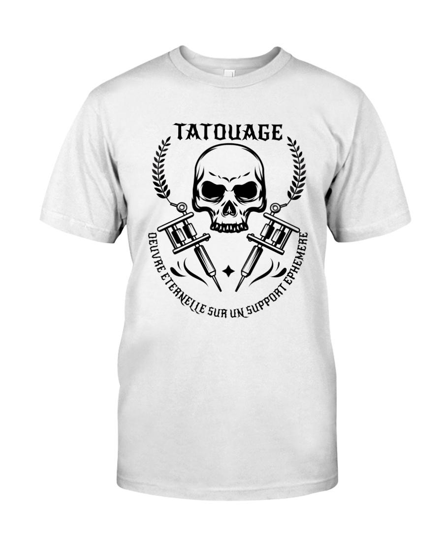 t shirt de fan de tatouage Classic T-Shirt