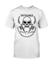 t shirt de fan de tatouage Classic T-Shirt front
