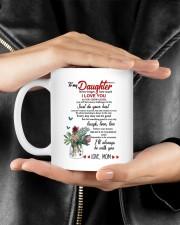 MOM TO DAUGHTER GIFT JUST DO YOUR BEST- LAUGH Mug ceramic-mug-lifestyle-23
