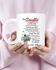 MOM TO DAUGHTER GIFT JUST DO YOUR BEST- LAUGH Mug ceramic-mug-lifestyle-29