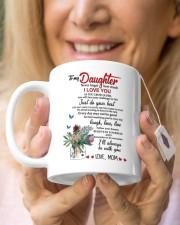 MOM TO DAUGHTER GIFT JUST DO YOUR BEST- LAUGH Mug ceramic-mug-lifestyle-67