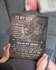 MOM TO SON GIFT CARRY YOU IN MY HEART 11x14 Gallery Wrapped Canvas Prints aos-canvas-pgw-11x14-lifestyle-front-25