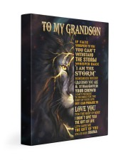 GRANMA TO GRANDSON GIFT- FATE STORM CROWN -LION 11x14 Gallery Wrapped Canvas Prints front