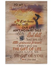 DAD TO DAUGHTER GIFT - YOU ARE MY LITTLE PRINCESS 11x17 Poster front