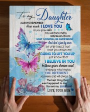 MOM TO DAUGHTER GIFT BUTTERFLY STRONG CONFIDENT 11x14 Gallery Wrapped Canvas Prints aos-canvas-pgw-11x14-lifestyle-front-32