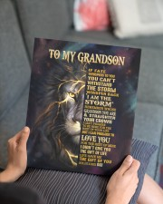 GIGI TO GRANDSON GIFT- FATE STORM CROWN -LION 11x14 Gallery Wrapped Canvas Prints aos-canvas-pgw-11x14-lifestyle-front-25