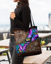 MOM TO DAUGHTER GIFT- BUTTERFLY- GIFT OF LIFE All-over Tote aos-all-over-tote-lifestyle-front-04
