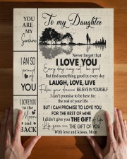 MOM TO DAUGHTER GIFT GUITAR LIVE LAUGH LOVE 11x14 Gallery Wrapped Canvas Prints aos-canvas-pgw-11x14-lifestyle-front-32