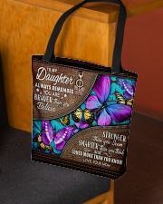 MOM TO DAUGHTER GIFT- BUTTERFLY- BRAVER STRONGER All-over Tote aos-all-over-tote-lifestyle-front-02