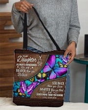 MOM TO DAUGHTER GIFT- BUTTERFLY- BRAVER STRONGER All-over Tote aos-all-over-tote-lifestyle-front-10