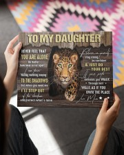 MOM TO DAUGHTER GIFT STEP OUT THE SHADOWS 14x11 Gallery Wrapped Canvas Prints aos-canvas-pgw-14x11-lifestyle-front-24