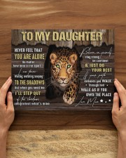 MOM TO DAUGHTER GIFT STEP OUT THE SHADOWS 14x11 Gallery Wrapped Canvas Prints aos-canvas-pgw-14x11-lifestyle-front-34
