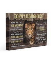 MOM TO DAUGHTER GIFT STEP OUT THE SHADOWS 14x11 Gallery Wrapped Canvas Prints front
