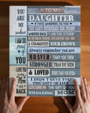 MOM TO DAUGHTER GIFT- BRAVER STRONGER LOVED -WOOD 11x14 Gallery Wrapped Canvas Prints aos-canvas-pgw-11x14-lifestyle-front-32