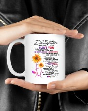 MOM TO DAUGHTER GIFT DANCE IN THE RAIN- ENJOY RIDE Mug ceramic-mug-lifestyle-23