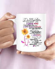 MOM TO DAUGHTER GIFT DANCE IN THE RAIN- ENJOY RIDE Mug ceramic-mug-lifestyle-27