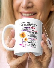 MOM TO DAUGHTER GIFT DANCE IN THE RAIN- ENJOY RIDE Mug ceramic-mug-lifestyle-67