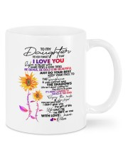 MOM TO DAUGHTER GIFT DANCE IN THE RAIN- ENJOY RIDE Mug front
