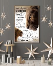 GRANDMA TO GRANDSON GIFT- JUST DO YOUR BEST- LION 11x17 Poster lifestyle-holiday-poster-1