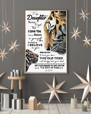 DAD TO DAUGHTER GIFT - TIGER- HAVE YOUR BACK 11x17 Poster lifestyle-holiday-poster-1