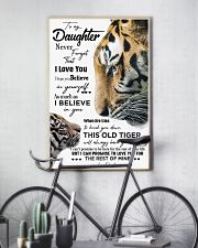 DAD TO DAUGHTER GIFT - TIGER- HAVE YOUR BACK 11x17 Poster lifestyle-poster-7