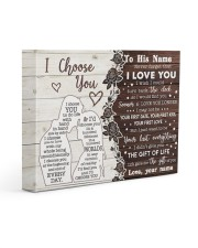 CUSTOM NAME TO YOUR BOYFRIEND- FIND YOU SOONER 14x11 Gallery Wrapped Canvas Prints front