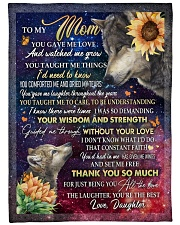 """DAUGHTER TO MOM GIFT YOU ARE THE BEST Large Fleece Blanket - 60"""" x 80"""" front"""