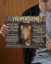 MOM TO SON GIFT- PANTHER STEP OUT THE SHADOWS 14x11 Gallery Wrapped Canvas Prints aos-canvas-pgw-14x11-lifestyle-front-23
