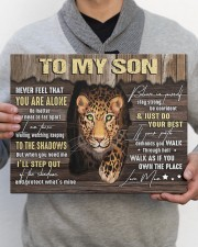 MOM TO SON GIFT- PANTHER STEP OUT THE SHADOWS 14x11 Gallery Wrapped Canvas Prints aos-canvas-pgw-14x11-lifestyle-front-30
