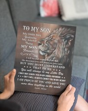 MOM TO SON GIFT LION LOVE YOU MORE THAN ANYTHING 11x14 Gallery Wrapped Canvas Prints aos-canvas-pgw-11x14-lifestyle-front-25