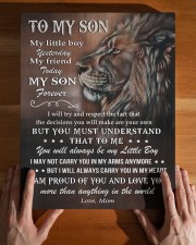 MOM TO SON GIFT LION LOVE YOU MORE THAN ANYTHING 11x14 Gallery Wrapped Canvas Prints aos-canvas-pgw-11x14-lifestyle-front-32