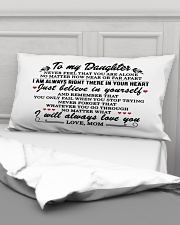 MOM TO DAUGHTER GIFT I'M ALWAYS IN YOUR HEART Rectangular Pillowcase aos-pillow-rectangular-front-lifestyle-03