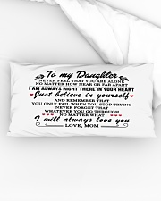 MOM TO DAUGHTER GIFT I'M ALWAYS IN YOUR HEART Rectangular Pillowcase aos-pillow-rectangular-front-lifestyle-04