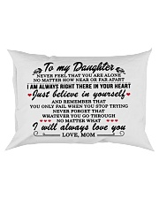MOM TO DAUGHTER GIFT I'M ALWAYS IN YOUR HEART Rectangular Pillowcase front