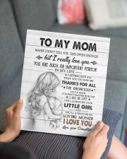 DAUGHTER TO MOM GIFT - SUCH AN IMPORTANT PERSON 11x14 Gallery Wrapped Canvas Prints aos-canvas-pgw-11x14-lifestyle-front-25