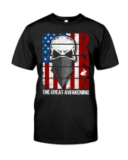 QANON THE GREAT AWAKENNG Classic T-Shirt front
