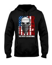 QANON THE GREAT AWAKENNG Hooded Sweatshirt thumbnail