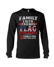 Family Faith Friends Flag Firearms  Long Sleeve Tee thumbnail