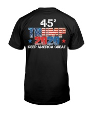 Trump for President 2020 Keep America Great Classic T-Shirt back