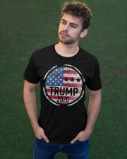 TRUMP 2020  Classic T-Shirt apparel-classic-tshirt-lifestyle-front-43