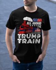 Trump Train 2020 Classic T-Shirt apparel-classic-tshirt-lifestyle-front-46