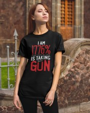 I'm 1776 Sure No One Is Taking My Guns  Classic T-Shirt apparel-classic-tshirt-lifestyle-06