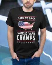 Back to Back World War Champs Classic T-Shirt apparel-classic-tshirt-lifestyle-front-45
