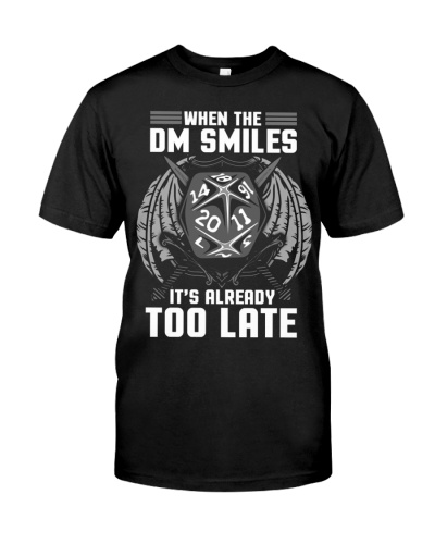 When the DM Smiles - It's Already Too Late