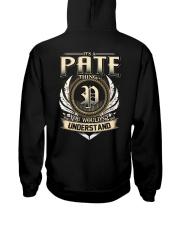 P-A-T-E X1 Hooded Sweatshirt back