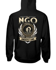 N-G-O X1 Hooded Sweatshirt back