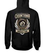 Q-U-I-N-T-A-N-A X1 Hooded Sweatshirt back