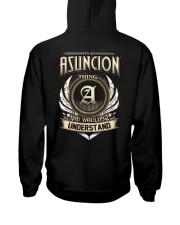 A-S-U-N-C-I-O-N k1 Hooded Sweatshirt back